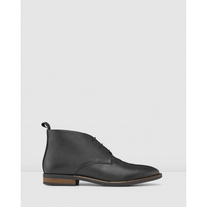 Middleton Chukka Boots Black by Aq By Aquila