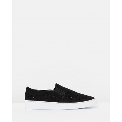 Midi Perf Slip-on Sneakers Black by Vionic