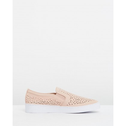 Midi Perf Slip-on Sneakers Dusty Pink by Vionic