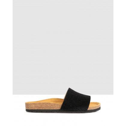 Mietta Slides Negro by Sempre Di