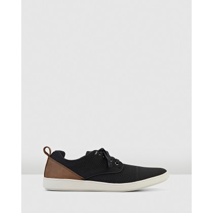 Mike Black Knit by Hush Puppies