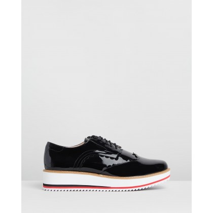 Mila Lace-Up Black by Walnut Melbourne