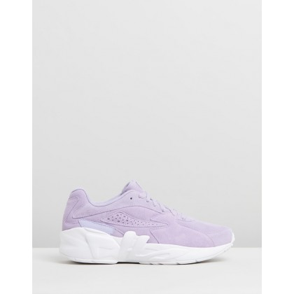 Mindblower - Women's Pastel Lilac & White by Fila