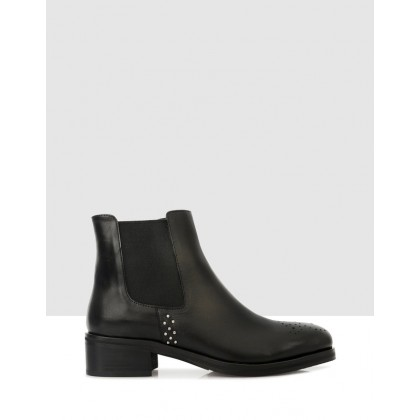Minerva Ankle Boots 7901 Black by S By Sempre Di