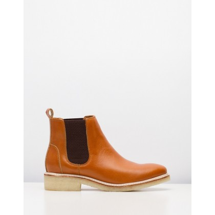 Mira Chelsea Boots Cognac by Rollie