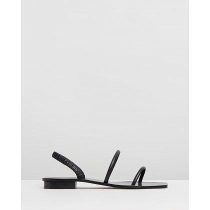 Mona Sandals Black by Cult Gaia