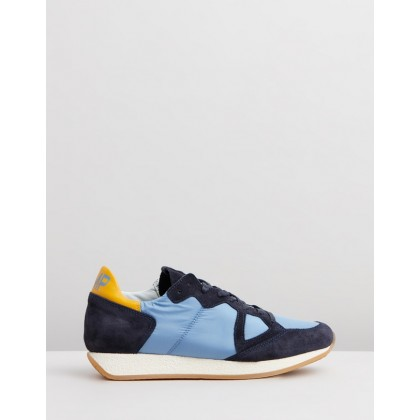 Monaco Sneakers Multi Blue by Philippe Model