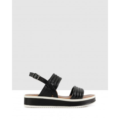 Morena Flatforms Black by S By Sempre Di