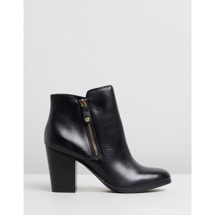 Naedia Black Leather by Aldo