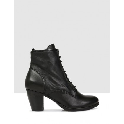 Namiya Ankle Boots NERO by S By Sempre Di
