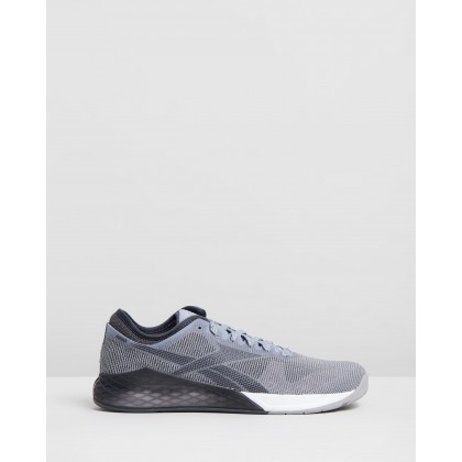 Nano 9 - Men's Cool Shadow, Cold Grey White & Pewter by Reebok Performance
