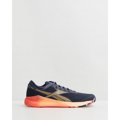 Nano 9 - Men's Heritage Navy, Rosette & Sun Glow by Reebok Performance