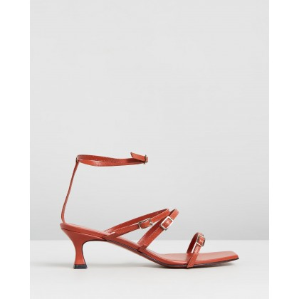 Naomi Sandals Red by Manu Atelier