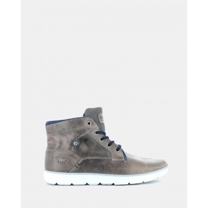 Napier High-Tops Dark Grey by Wild Rhino