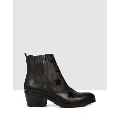 Natalina Ankle Boots Antracite by S By Sempre Di