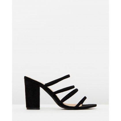 Navo BLACK SUEDE by Billini