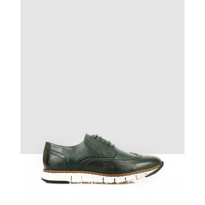 Nelo Sneakers Dark Green by Brando