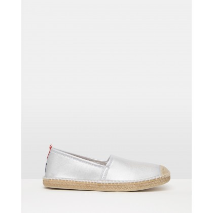 Neoprene Beachcomber Espadrilles Platinum by Sea Star Beachwear