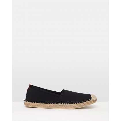 Neoprene Beachcomber Espadrilles Black by Sea Star Beachwear