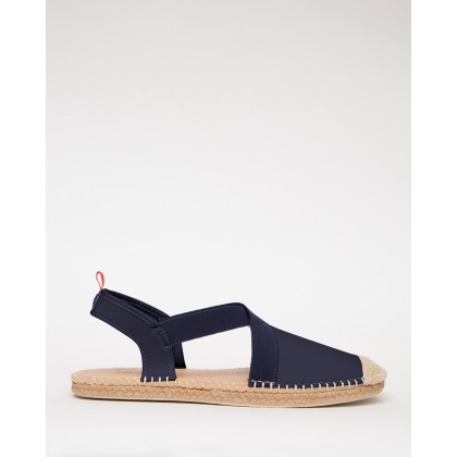 Neoprene Seafarer Slingbacks Navy by Sea Star Beachwear
