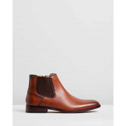 Nicholls Street Boots Cognac by Rodd & Gunn