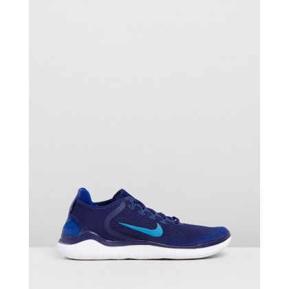 Nike Free RN- Men's Blue Void, Photo Blue & Indigo Force by Nike