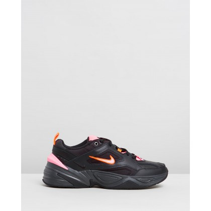 Nike M2K Tekno Black, Sunset Pulse & Off Noir by Nike