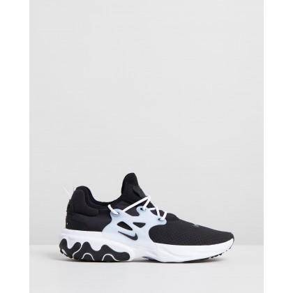 Nike React Presto - Men's Black & White by Nike
