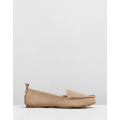 Nikita Leather Loafers Blush by Atmos&Here