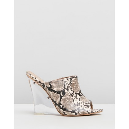 Nikita Wedges Snakeskin by Spurr