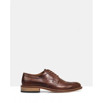 Noah Leather Brogues Brown by Brando