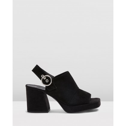 Nolan Platform Shoes Black by Topshop