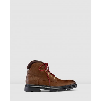 Norse Hiking Boots Cigar by Aq By Aquila