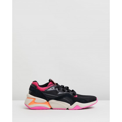 Nova Urban 90's - Women's Fuchsia Purple & Puma Black by Puma