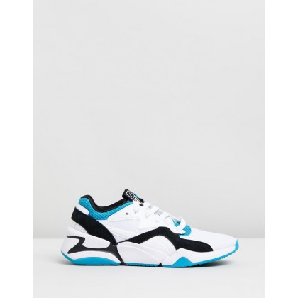Nova Urban 90's - Women's Caribbean Sea & Puma White by Puma