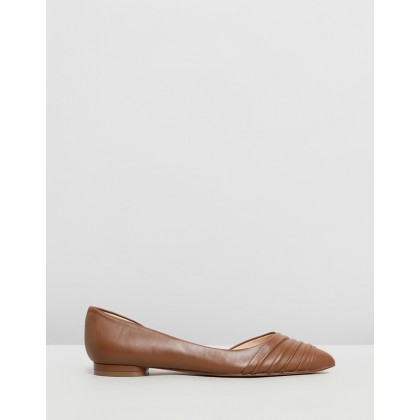 Odelina Dark Natural Leather by Nine West