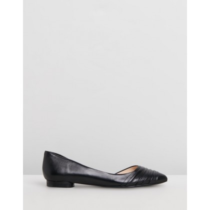 Odelina Black Leather by Nine West