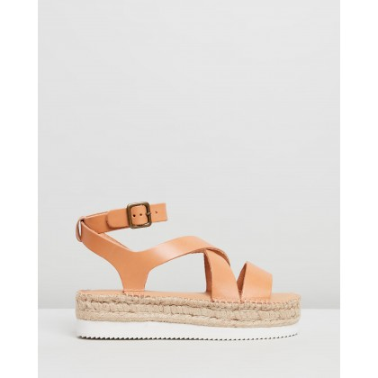 Olympia Espadrille Sandals Tan by Soludos