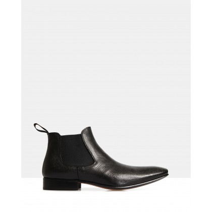 Omar Ankle Boots Black by Brando
