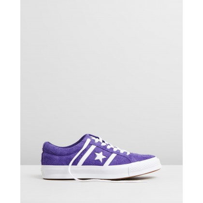 One Star Academy Archive Authentic - Unisex Court Purple & White by Converse