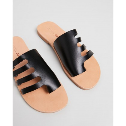 Ophelia Sandals Black by Ammos