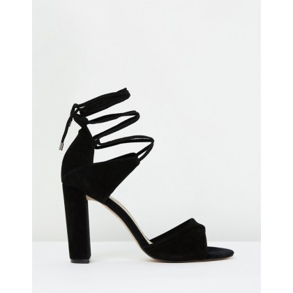 Origami Sandal Black Suede by Mode Collective