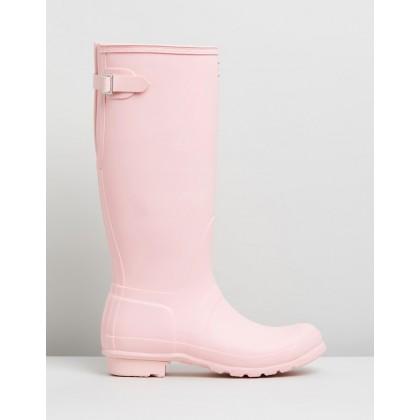 Original Adjustable Back Boots - Women's Candy Floss by Hunter