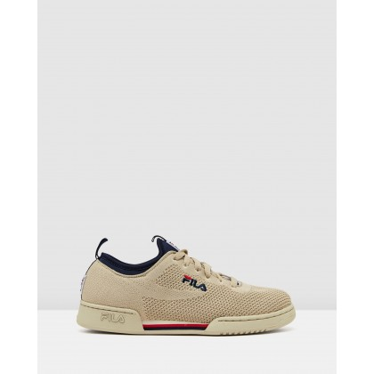 Original Fitness 2.0 Knit Cream/Navy by Fila