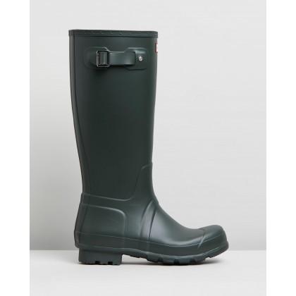 Original Tall Boots - Men's Dark Olive by Hunter