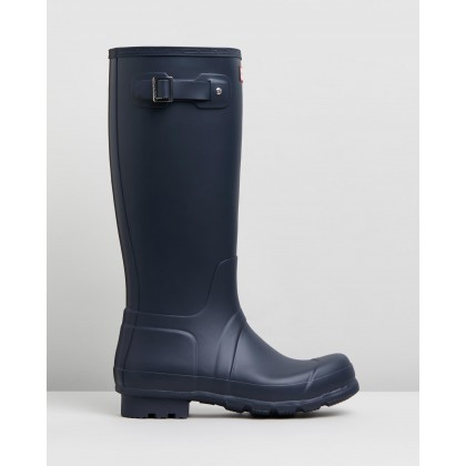 Original Tall Boots - Men's Navy by Hunter