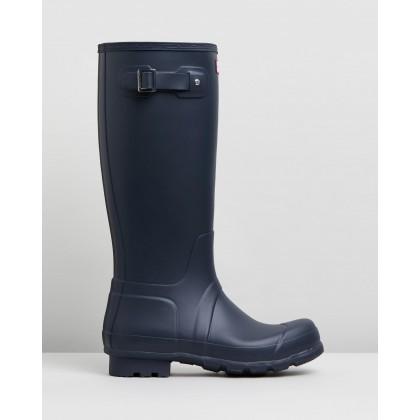 Original Tall Boots - Men's Navy by Hunter