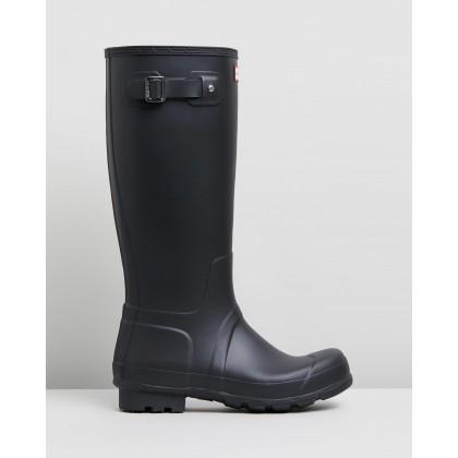 Original Tall Boots - Mens Black by Hunter
