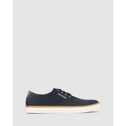 Otis Canvas Lifestyle Shoes Navy by Betts