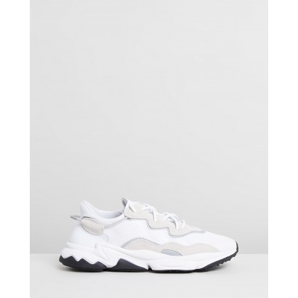Ozweego - Unisex Cloud White & Black by Adidas Originals